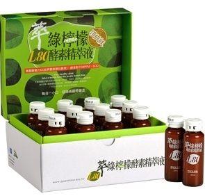達觀.L-80萃綠檸檬代謝酵素精萃液12罐/盒