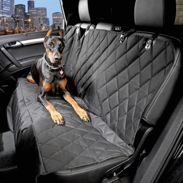 汽車寵物車載狗墊後座加厚耐咬防水防臟外出車用後排狗狗坐墊通用  麻吉鋪