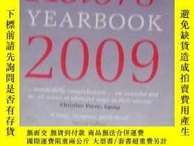 二手書博民逛書店英文原版罕見Actors Yearbook 2009 by C