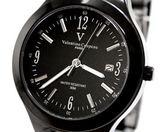 valentino coupeau范倫鐵諾 全黑實心腕錶 女錶男錶對錶情侶 送禮
