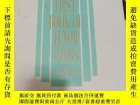 二手書博民逛書店The罕見first book of tender solos 第一本男高音獨唱書Y358951 Joan