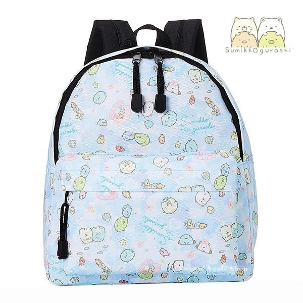 【SAS】日本限定 SAN-X 角落生物 海洋世界版 兒童後背包 (藍色款)