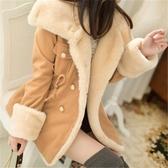 毛呢外套 秋季衛衣少女呢子中長款開衫大衣冬裝學生加厚加絨大碼寬鬆外套潮 新年慶
