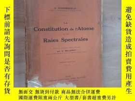 二手書博民逛書店外文書罕見Constitution de Atome Raies Spectrales(共384頁)Y1596