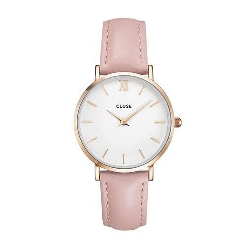 CLUSE荷蘭精品手錶 MINUIT玫瑰金系列