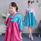 韓國舞蹈服裝傳統演出服表演成人韓服...