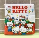 【震撼精品百貨】Hello Kitty_凱蒂貓~三麗鷗 KITTY日本扣式防水短夾/零錢包-遊樂園#43978