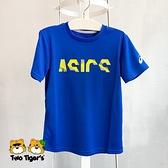ASICS 亞瑟士 童裝 短袖 T-shirt 藍色 NO.H3329(2034A703-401)
