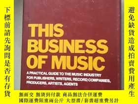 二手書博民逛書店英文原版---罕見This Business of MusicY