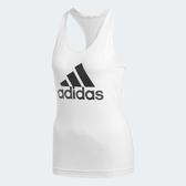 adidas 背心 D2M Commercial Tank 女款 經典 基本款 無袖 小可愛 內搭 黑白 黑 白 【PUMP306】 CV3991