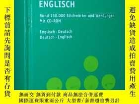 二手書博民逛書店德國原版書罕見PONS Kompaktwörterbuch En