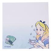 DISNEY 愛麗絲日本製自黏便利貼組(漸層閃耀)★funbox★sun-star_UA57112