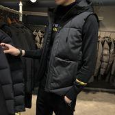 男士馬甲秋冬季韓版潮流羽絨棉馬夾男款外套保暖背心坎肩YYP  歐韓流行館