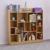 兒童書架落地小書柜簡易小學生園置物架