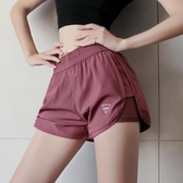 休閒短褲 運動短褲女寬鬆休閑百搭夏季速干跑步健身褲防走光高腰舞蹈瑜伽褲