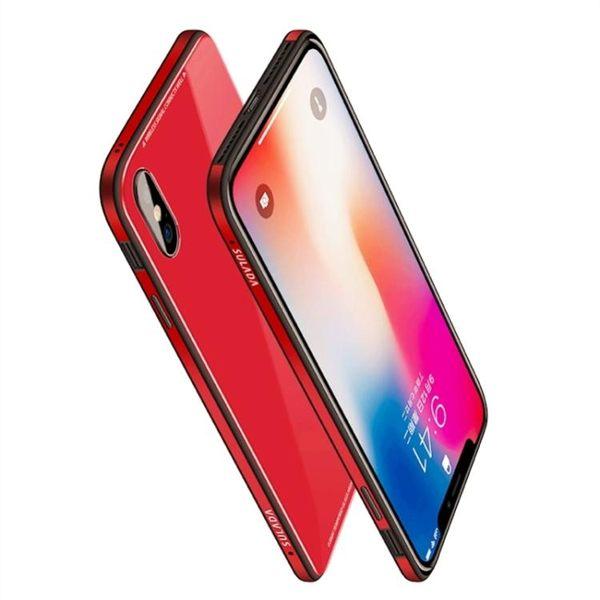 iphonex手機殼新款蘋果硅膠套全包防摔8男金屬玻璃
