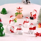 CARMO聖誕雪人/老人/麋鹿微景觀 盆栽裝飾【A044002】