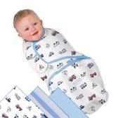 《美國Summer infant》聰明懶人純棉包巾(交通工具3入組) ㊣原廠授權總代理公司貨