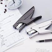 0346手握式訂書機訂書器全金屬材質12#訂書釘手握訂書機  提拉米蘇