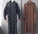 新款寬鬆長款襯衣裙(兩色/兩碼可選)