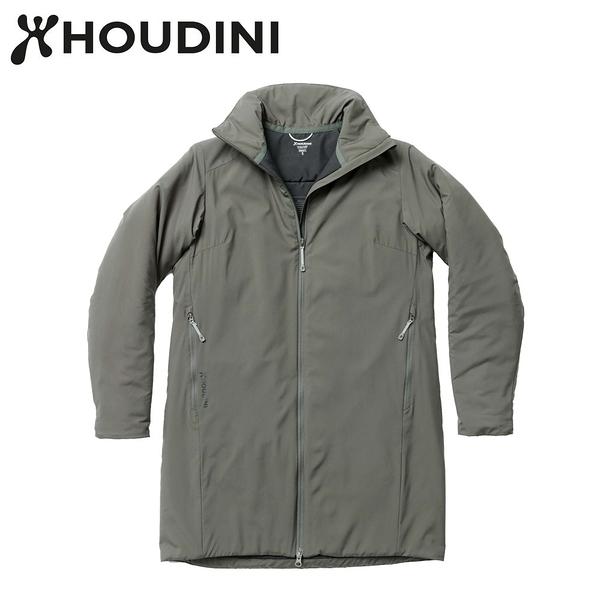 瑞典【Houdini】W`s Add-in Jacket 女款化纖保暖長板夾克 裸印綠