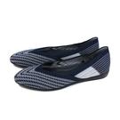 inooknit 平底鞋 休閒鞋 藍/斜紋 編織 女鞋 IK-BJ1FW0106-555 no021