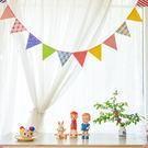 生日派對慶典布置幾何三角彩旗 12枚入 ...