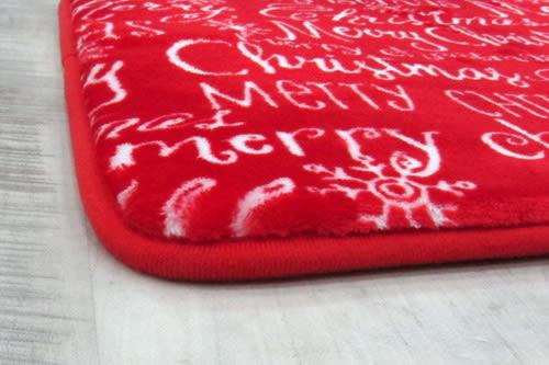 范登伯格 真柔軟舒適止滑踏墊-聖誕印花-40x60cm