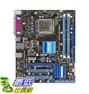 [整新良品, 現貨_TF01]  ASUS Core 2 Quad/Intel G41/DDR3/A&V&GbE/Micro ATX Motherboard s P5G41T-M LX