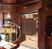 珠簾水晶隔斷簾簾客廳玄關廁所衛生間門簾子