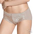 LADY 維納斯系列 蕾絲中腰平口內褲(純淨膚)