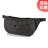 【現貨】PUMA EVOLUTION 腰包 側背包 花紋 黑【運動世界】07701401