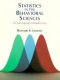 二手書博民逛書店《Statistics in the behavioral sciences : a conceptual introduction》 R2Y ISBN:0534253202