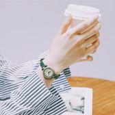 森女系森系小錶盤手錶女中學生韓版簡約復古文藝皮帶細帶小巧迷你