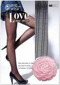 【蒂巴蕾】LOVE 細直條紋 豎條紋。彈性 透膚 絲襪 褲襪(6入組)