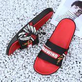 拖鞋男夏時尚外穿2019新款個性男士拖鞋室內外防滑沙灘拖鞋一字拖 生活樂事館