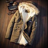 迷彩加厚棉衣 男生羊羔絨外套 冬天男學生棉襖 青少年帥氣棉服 男士冬天外套 保暖加厚加絨棉衣