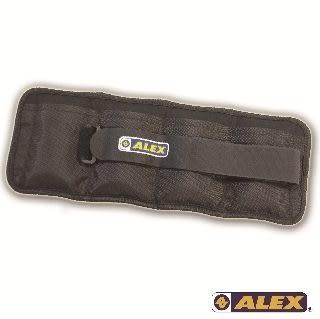 ALEX-抽取式沙包型加重器(黑4KG/對)