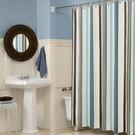 衛生間浴室浴簾套裝免打孔防水加厚防霉隔斷...