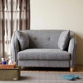 【YKSHOUSE】元町雙人座布沙發(獨立筒版-三色可選)灰色