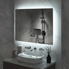 帶燈LED掛鏡衛生間廁所鏡子智能浴室鏡【頁面價格是訂金價格】