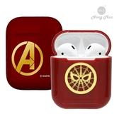 [復仇者聯盟4] AirPods硬式保護套 蜘蛛人(紅金)