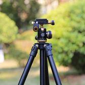 Q160S單反相機三腳架攝影便攜微單手機自拍直播三角支架【無趣工社】