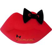 【享夢城堡】HELLO KITTY 紅唇系列-造型抱枕