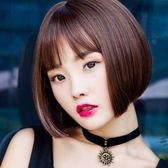 假髪女短髪波波頭假髪套空氣劉海中長直髪短卷髪  ys2038『時尚玩家』