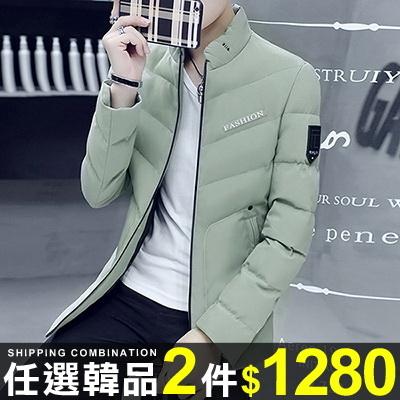 任選2件1280棉質外套韓版英倫風休閒修身棉質外套【08B-F0743】