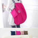 旅行袋 糖果色可折疊多功能後背包收納包【MJD882】 icoca  05/12