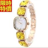 鑽錶-熱銷明星同款設計女腕錶3色5j11【巴黎精品】