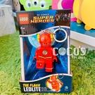 樂高鑰匙圈 DC超級英雄 閃電俠 LED 人偶造型鑰匙圈燈 COCOS LG320