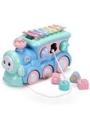敲琴兒童巴士手敲琴八音琴寶寶敲擊樂器 嬰幼兒0益智2玩具1-3歲6個月8 嬡孕哺